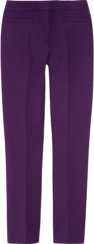 Burberry Prorsum Cropped wool pants