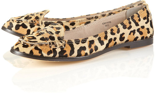 MADISON Leopard Print Loafers