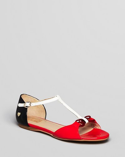 Love Moschino Shoes - Colorblocked Flat