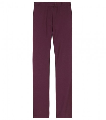 Acne LEE CROPPED WOOL TROUSERS