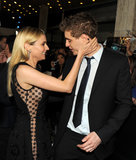 Diane Kruger joked around with Max Irons.