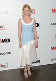 January Jones wore a Spring frock.