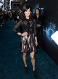 Perrey Reeves wore a see-through top.