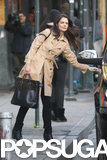Katie Holmes Lunches With a Mystery Man in NYC