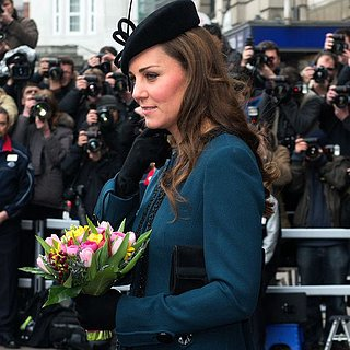Kate Middleton's Teal Coat on the London Tube | Video