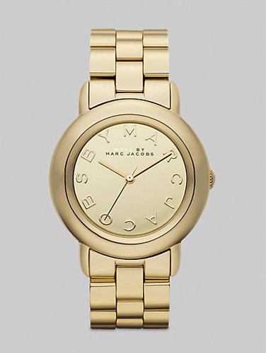Marc by Marc Jacobs Marci Gold IP Bracelet Watch