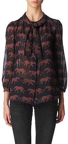 Marc By Marc Jacobs Panthera blouse