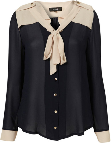 Ellie Bow Blouse by Yuki**