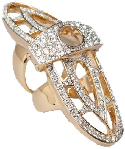Renaissance Pave Hinge Ring