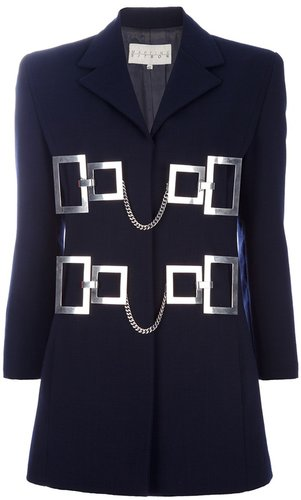 Martine Sitbon Vintage metal detail blazer