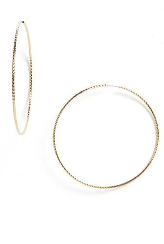Rachel Hoop Earrings