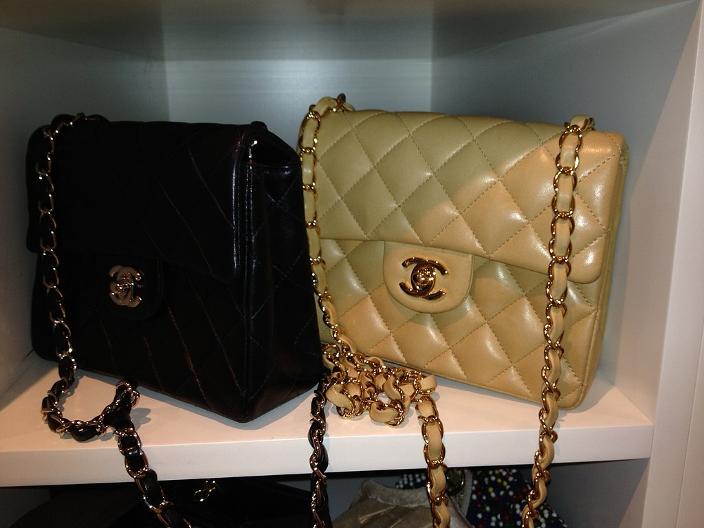And I especially love the classic Chanel bags.