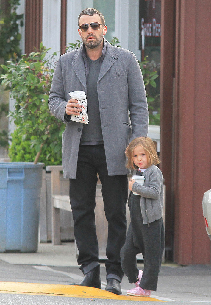 Ben Affleck and Seraphina Affleck stepped out to grab coffee.