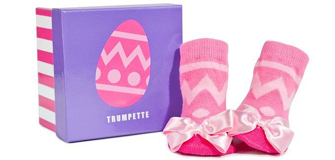 Trumpette Easter Girl Socks