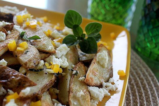 Oven-Baked Feta Fries