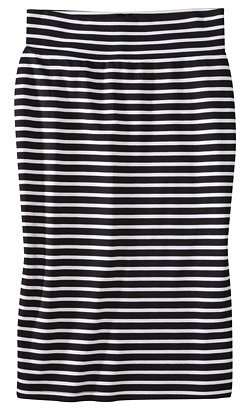 Mossimo® Petites Ponte Stripe Skirt - Assorted Colors