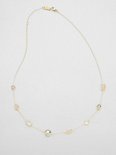 Ippolita 18K Gold & Semi-Precious Multi-Stone Station Necklace