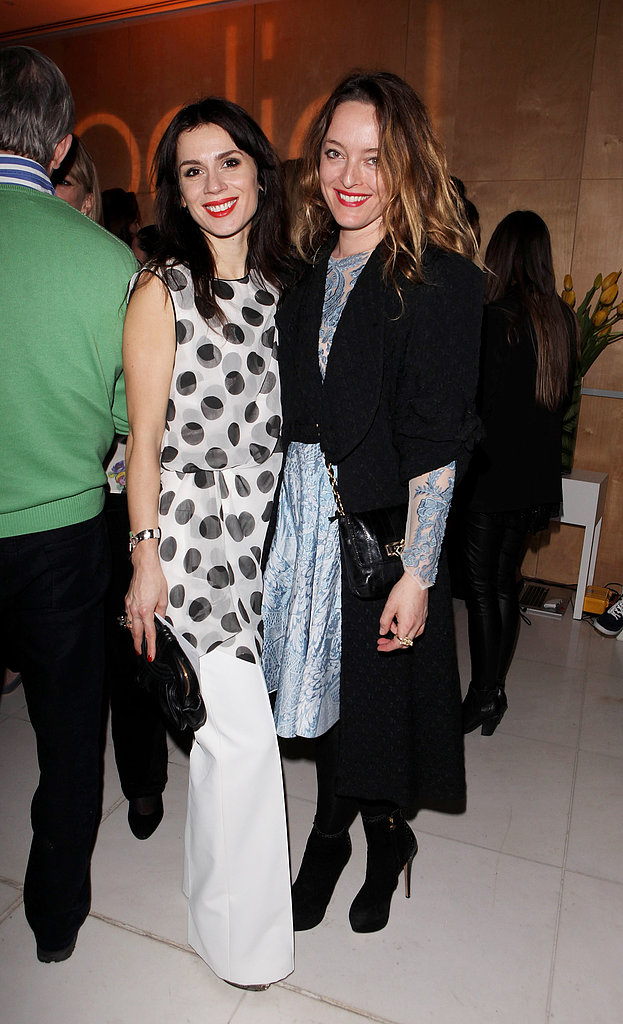 Lara Bohinc and Alice Temperley