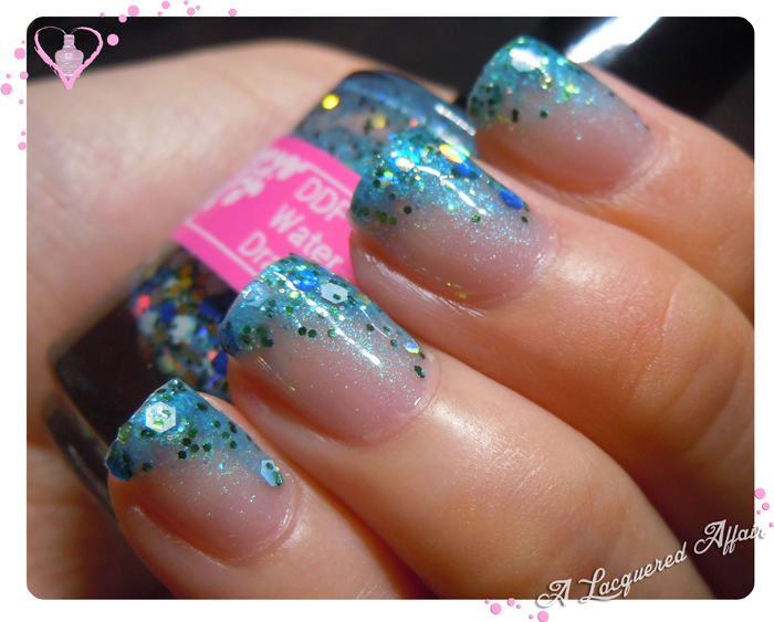 World Water Day 2013 inspired manicure