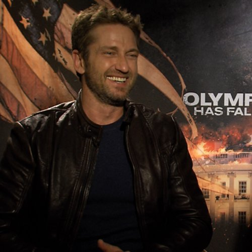 Gerard Butler and Antoine Fuqua Olympus Has Fallen Interview