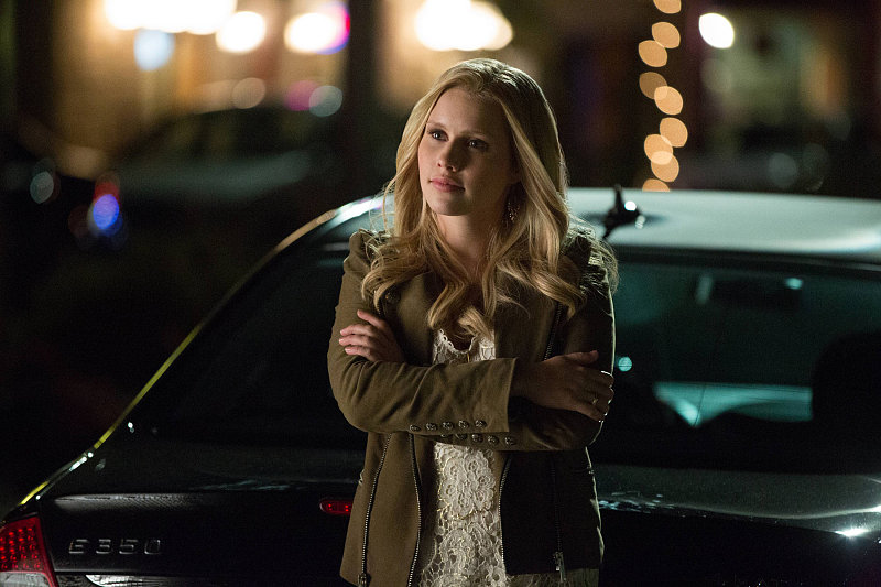 Claire Holt on The Vampire Diaries.
