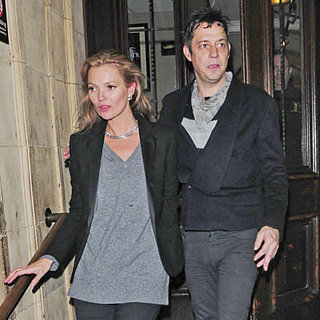 Kate Moss and Jamie Hince Go to a Concert in London