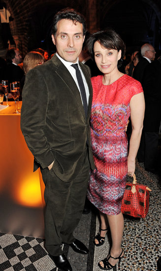 Rufus Sewell and Kristin Scott Thomas chatted at the afterparty.