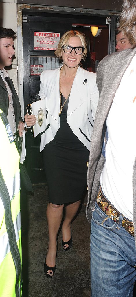 Kate Winslet and Ned Rocknroll Catch Book of Mormon Fever in London