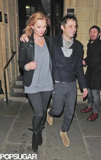 Kate Moss and Jamie Hince were arm in arm to catch a concert at Royal Albert Hall.