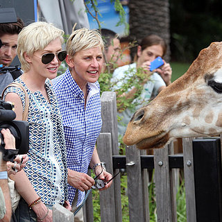 Ellen DeGeneres and Portia De Rossi at the Zoo | Photos