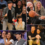 Action! See Stars Sitting Courtside at Basketball Games