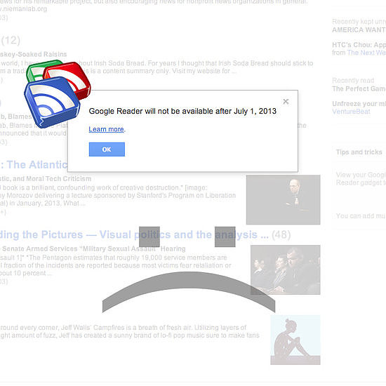 The End of Google Reader