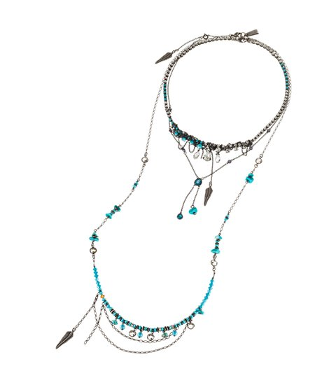 Zoë Kravitz for Swarovski Crystallized Sierra Long Necklace ($181)