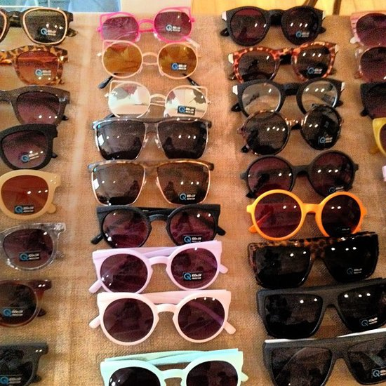 Sunny shades at the Bollare preview.