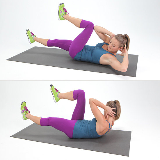 Core: Bicycle Crunches