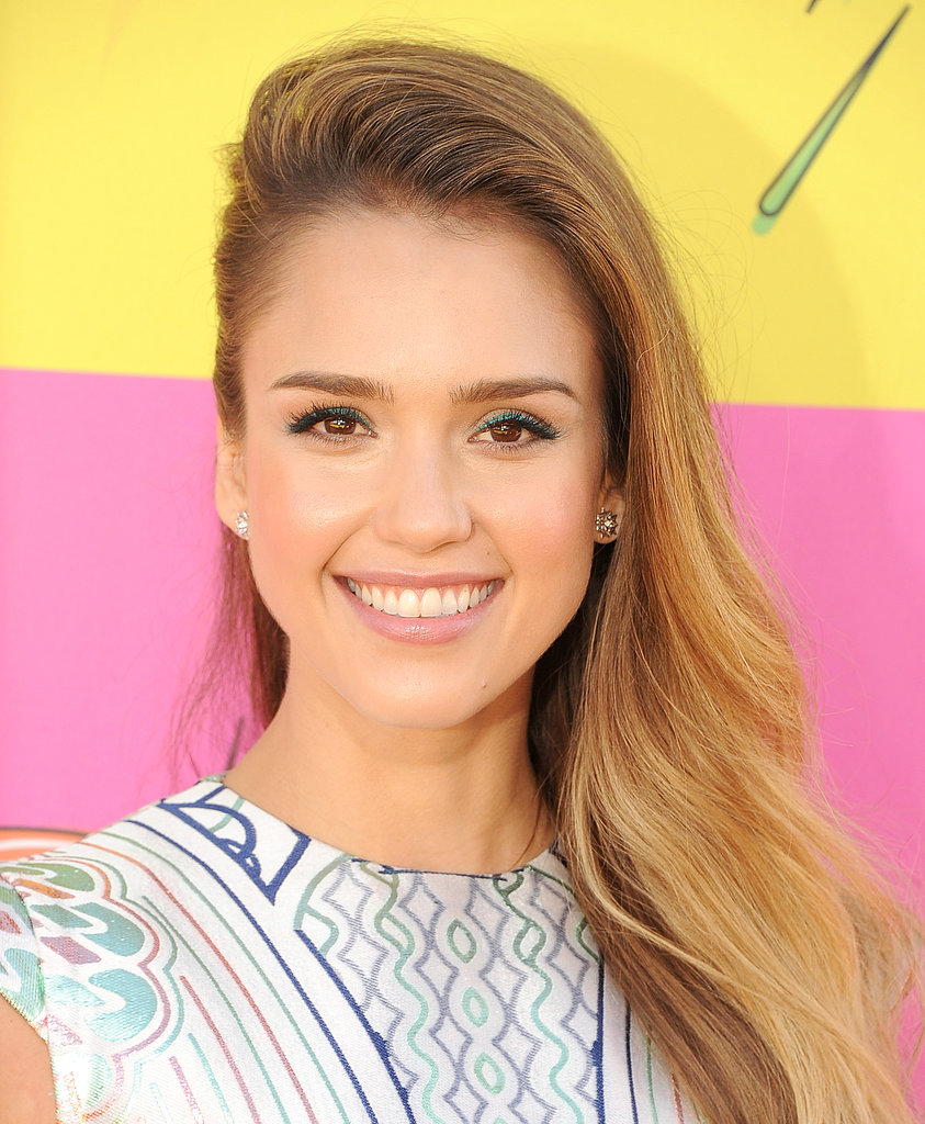 Jessica Alba Kids' Choice Awards 2013 Hair