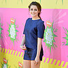 Kristen Stewart In Blue Shorts At 2013 Kids' Choice Awards