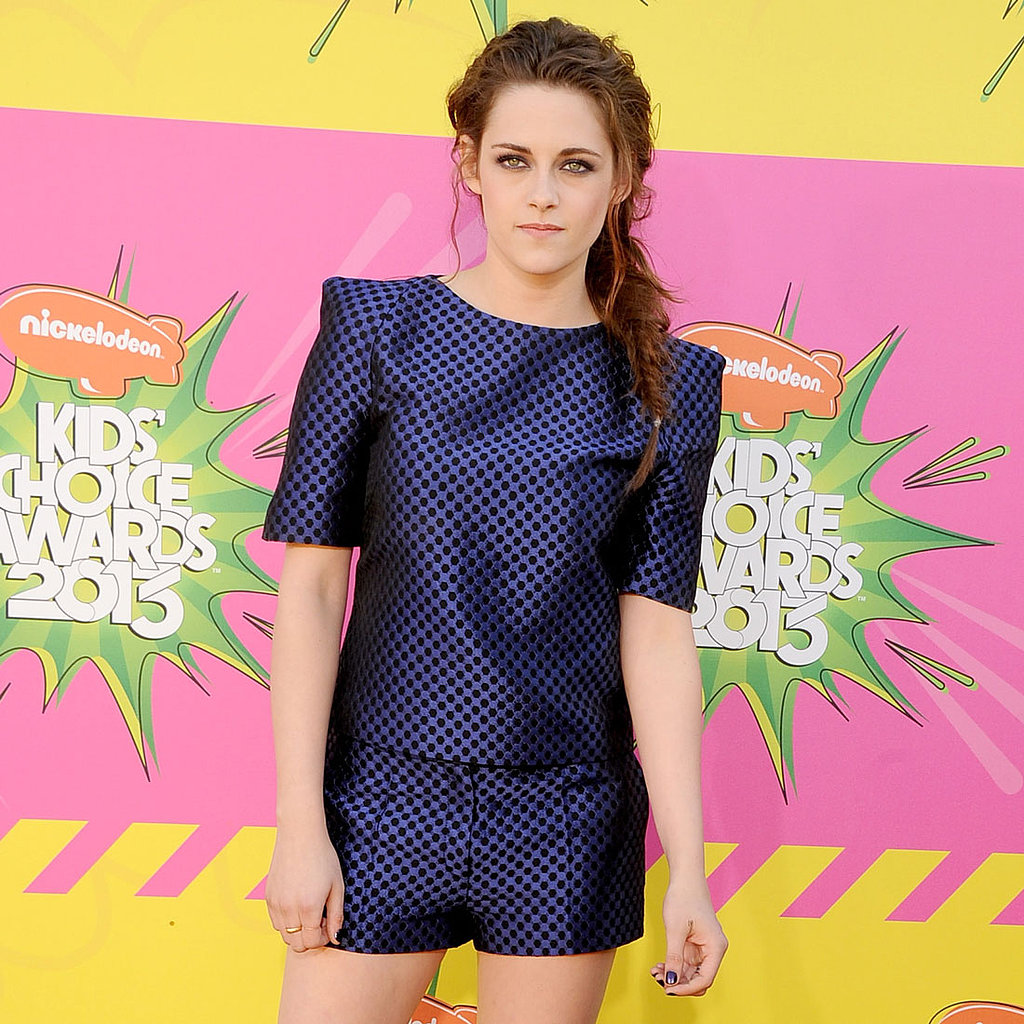 Kristen Stewart on Kids' Choice Awards Red Carpet | 2013