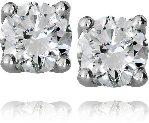 Spectrum Nina platinum diamond stud earrings