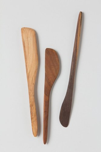 Handcarved Wooden Spreaders