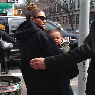 Beyonce With Blue at Buttermilk Channel in Brooklyn