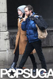 Anne Hathaway and Adam Stroll Arm in Arm Around the Big Apple