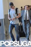 Chris Hemsworth Shows Love For His Girls in LA