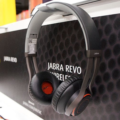 Meet Jabra Revo: Ultraplush, Multitouch Headphones