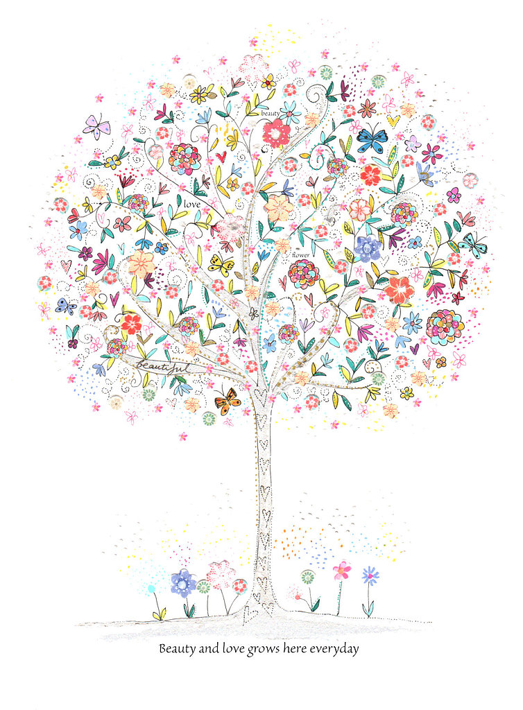 "With the saying ""beauty and love grows here every day,"" this beauty and love print ($16) will bring sweet sentiments to your little one's space."