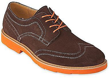 Stafford® Abbott Wingtip Lace-Up Oxfords