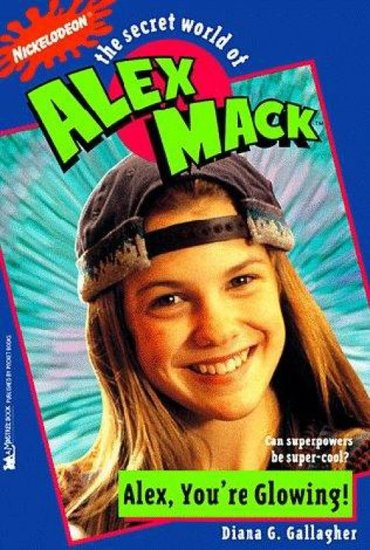 The Secret World of Alex Mack Books
