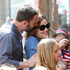 Ben Affleck Kisses Jennifer Garner in LA
