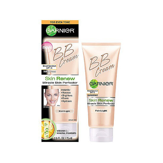BB cream with SPF 15 that matches your skin tone? Garnier Skin Renew Skin Perfecter ($13) truly is an all-in-one.
