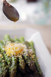 Asparagus With Grated Egg and Vinaigrette